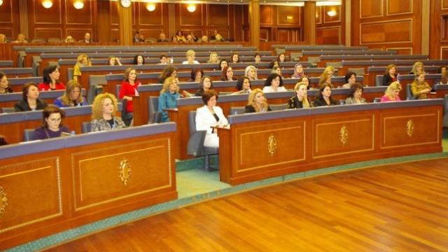 Women in Kosovo demand greater representation in state institutions