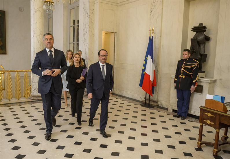 French question mark on the Montenegro's NATO membership