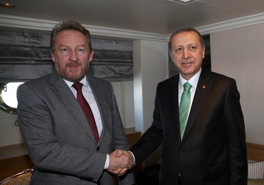 Bakir Izedbekovic met with Erdogan