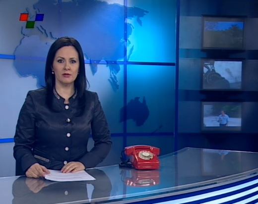 A TV network in FYROM holds open campaign against censorship and political pressure