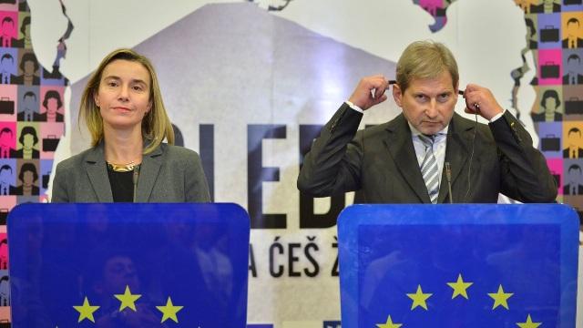 European Union signals its intervention in FYR Macedonia