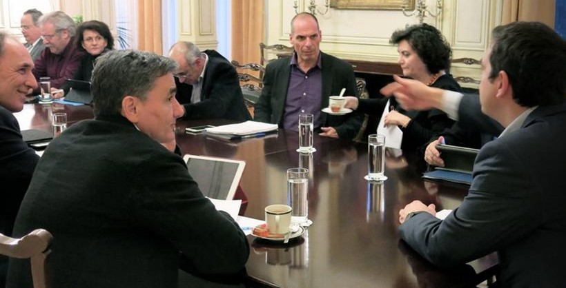 Cabinet meeting on fiscal issues, looming Eurogroup