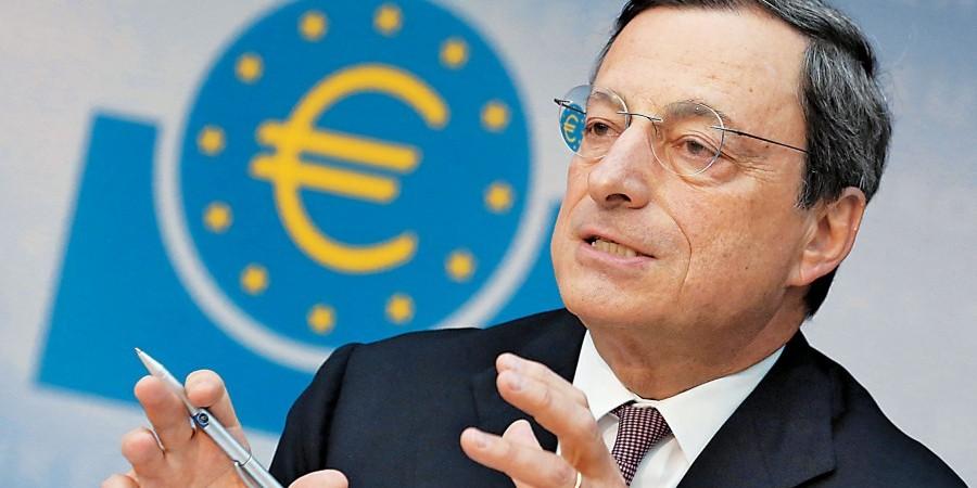 Mario Draghi in Nicosia