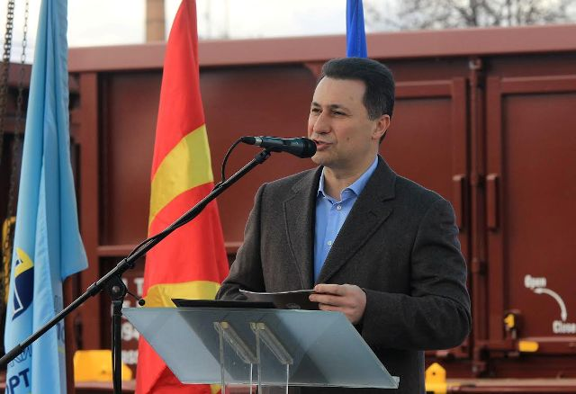 PM Gruevski holds a tour in the country, government projects and a campaign against the opposition