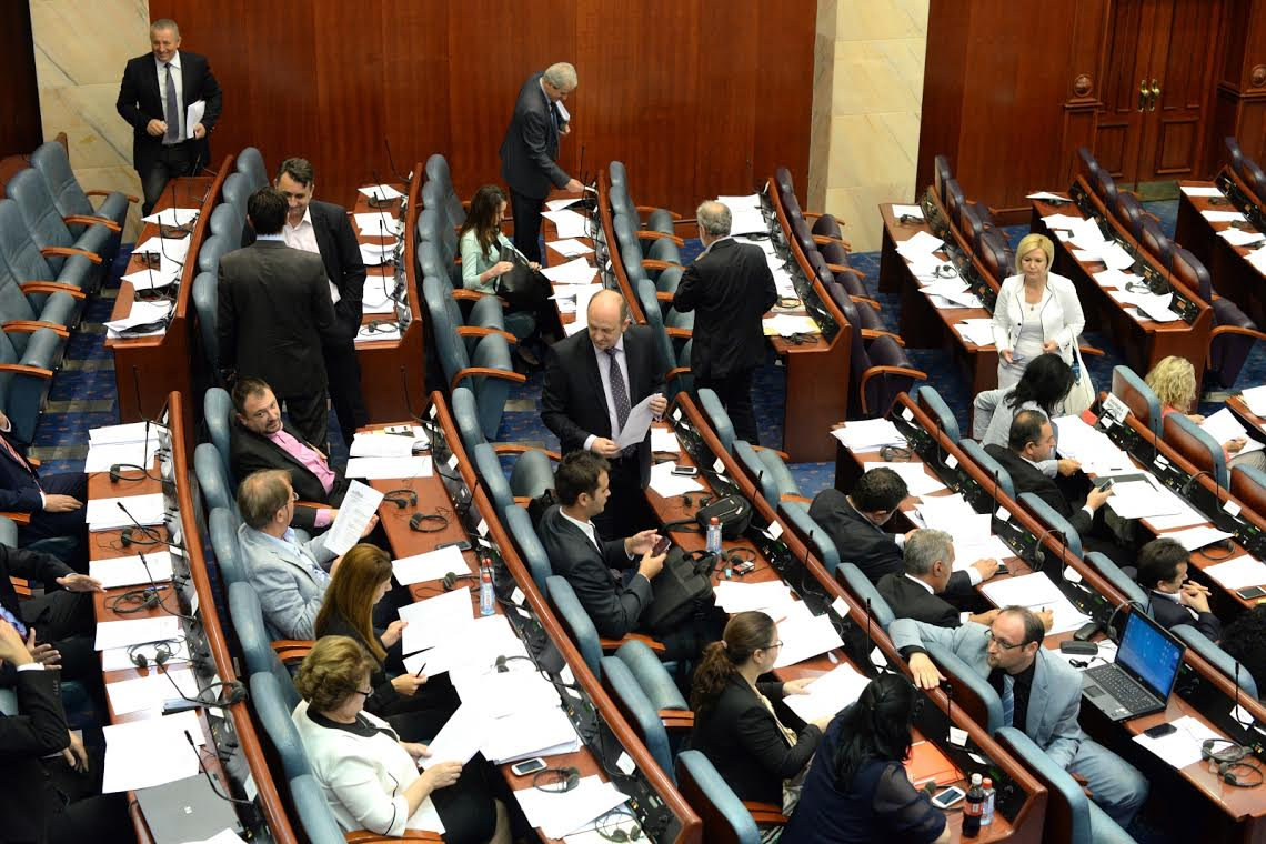 Opposition demands a political and not a legal solution of the crisis in FYR Macedonia