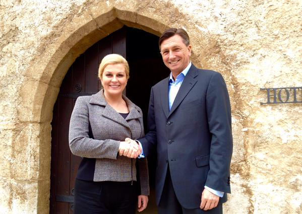 Presidents of Croatia and Slovenia hold informal meeting