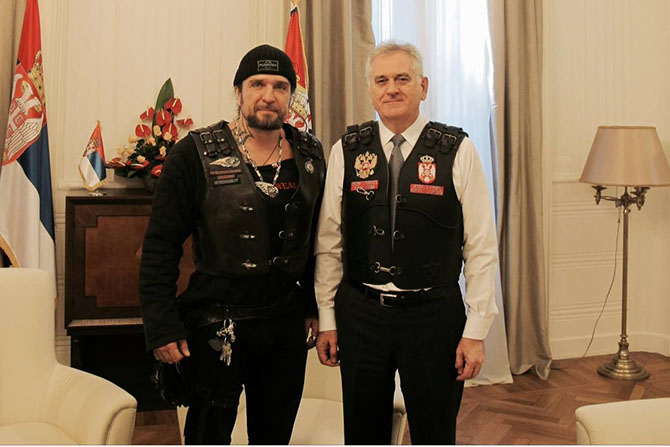 Nikolic sent off bikers to Moscow