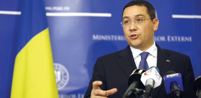 Romanian PM starts Gulf tour