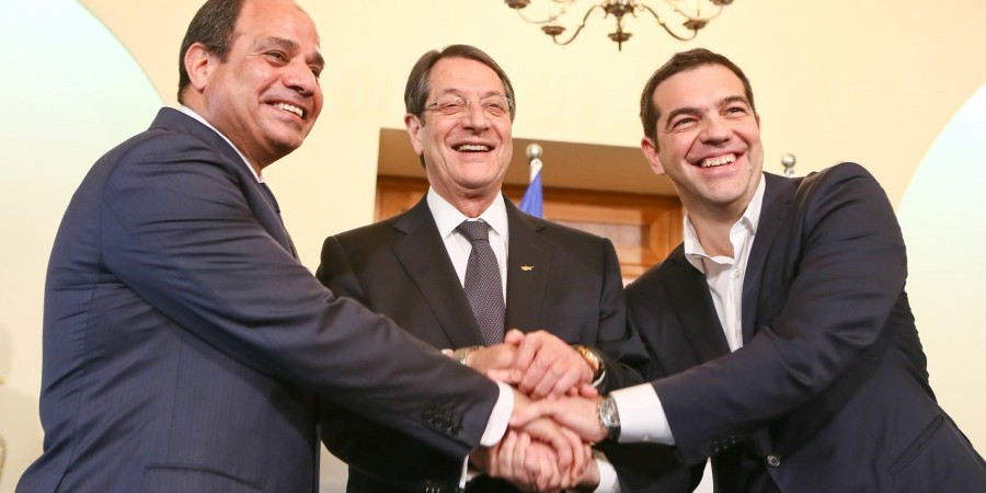 Cyprus, Egypt and Greece adopt the 'Declaration ofΝicosia'
