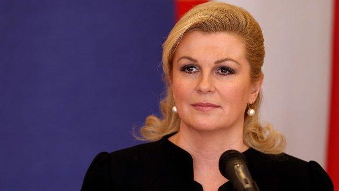 Kolinda Grabar Kitarovic announces Croatia's entry into eurozone by 2020
