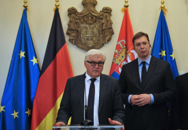 Steinmeier in Belgrade, Germany 'impressed' with reforms in Serbia