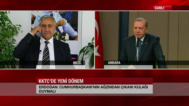 Erdogan reacts on the plans of the new president of Turkish-Cypriots