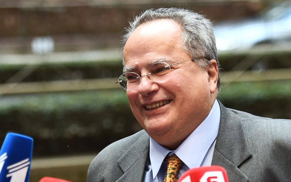 Kotzias: Respect to Germany, but not to its economy policies