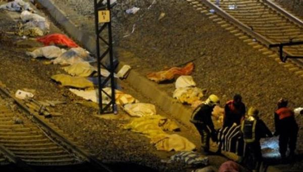 Railway tragedy in FYROM, 14 refugees are hit to death by an express train