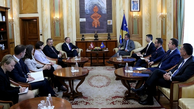 Isolation of Kosovo is absurd, says speaker of the parliament of Kosovo