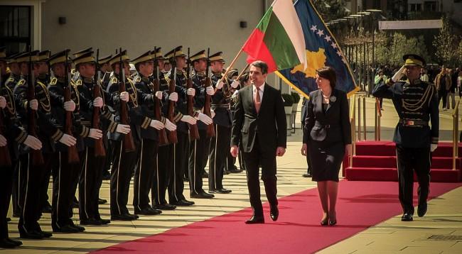 Jahjaga demands Bulgaria's assistance for Kosovo's integration