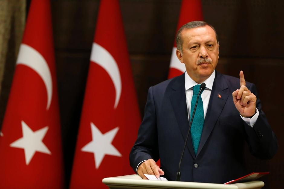 Turkey's president condemns attack on pro-Kurdish party