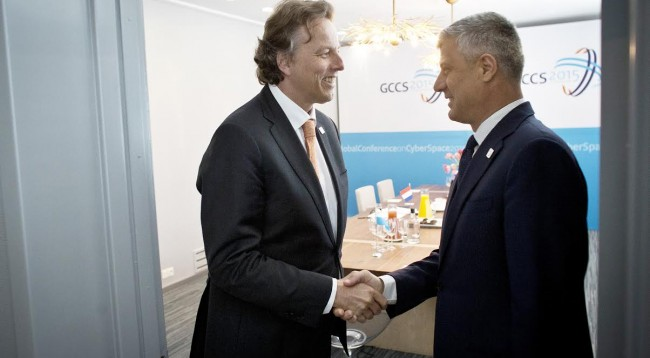 Thaci-Koenders: Economic development is a guarantee for stability in the Balkan