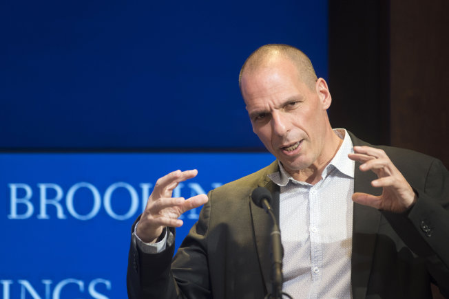 Yanis Varoufakis warns of 'liquidity asphyxiation'