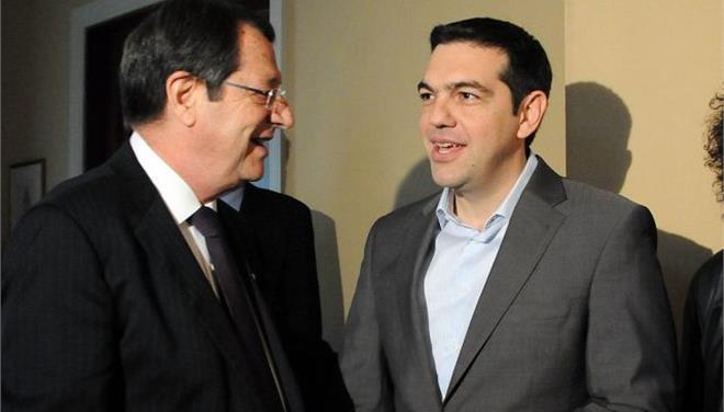 Anastasiades-Tsipras discuss economy