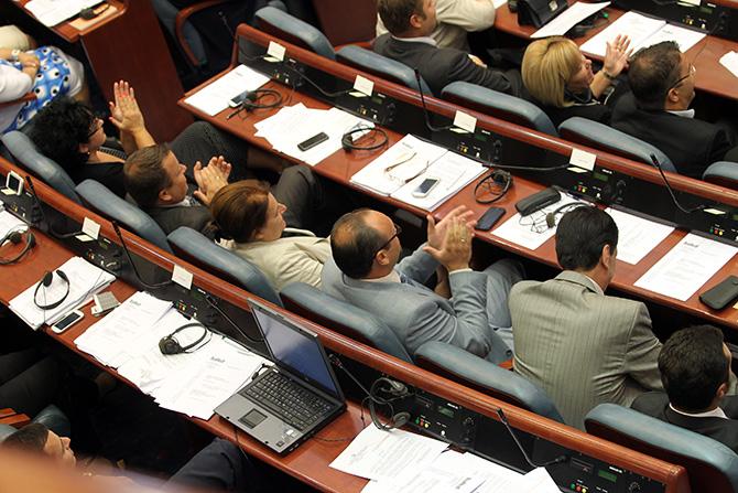 Debates over a political amnesty in FYROM