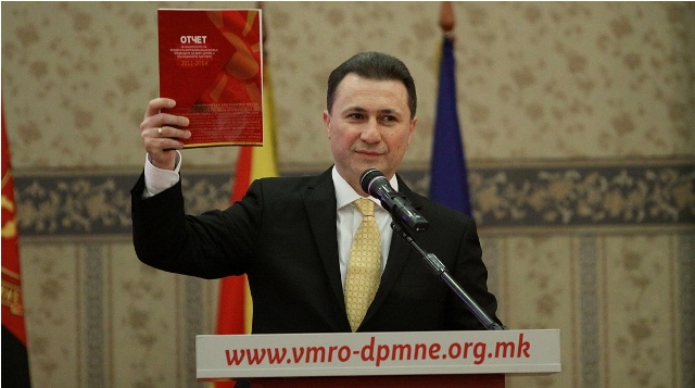 VMRO-DPMNE accuses the Macedonian opposition of trying to destabilize the country