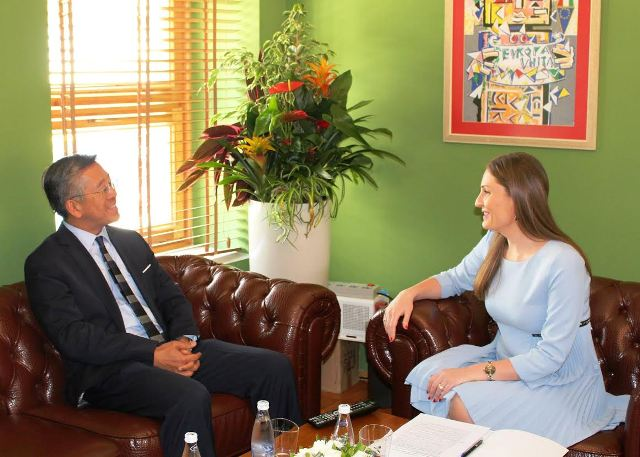 Ambassador Lu expresses US support for Albania's integration