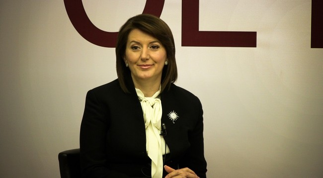 President of Kosovo says that she has been subject to gender prejudices
