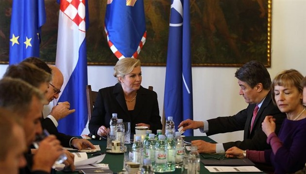 Croatian president will not attend the military parade in Moscow
