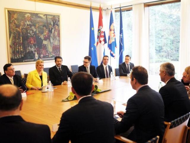 Kosovo and Croatia to strengthen strategic partnership