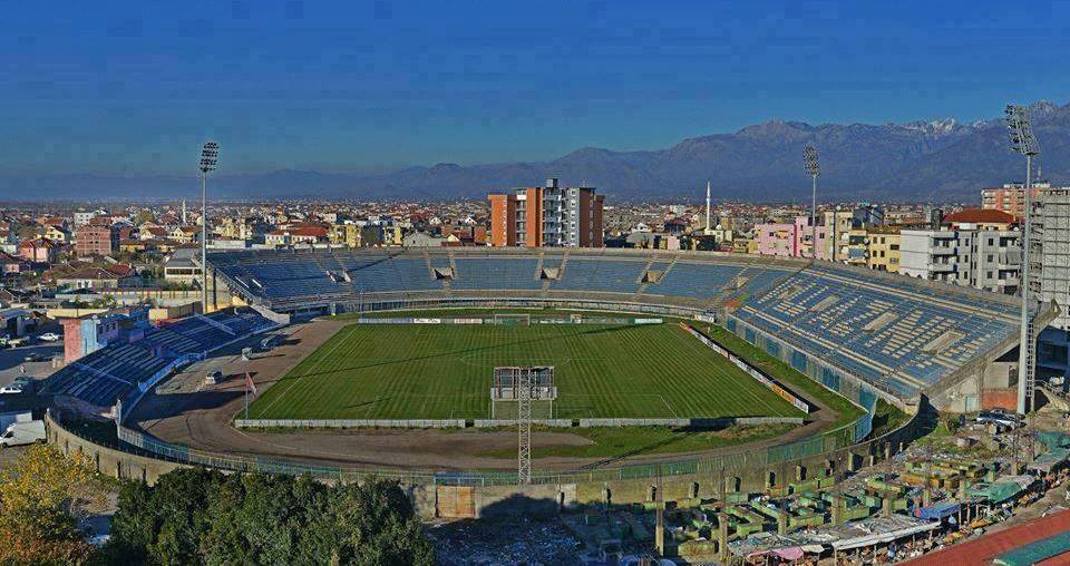 A stadium of European standards in the Albanian northern center
