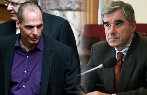 Varoufakis-Nikoloudis met with a delegation of the Swiss Finance Ministry