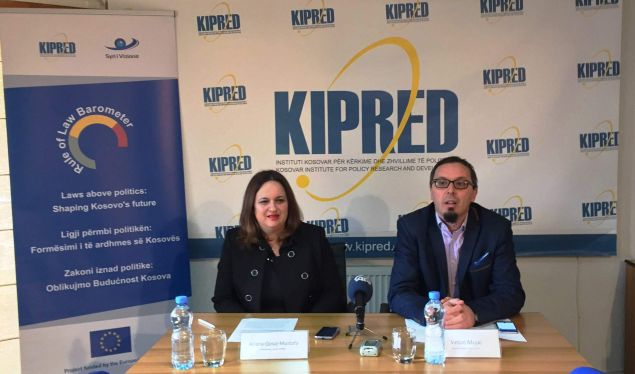 Kosovo is threatened by unrest, KIPRED says