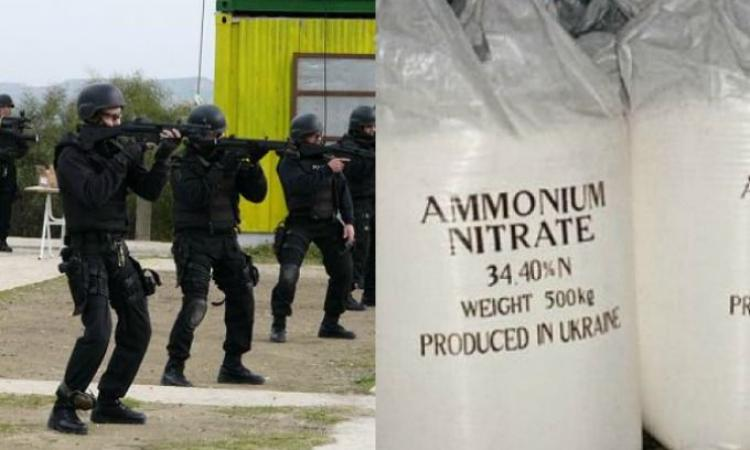 Two tonnes of ammonium nitrate found in Cyprus