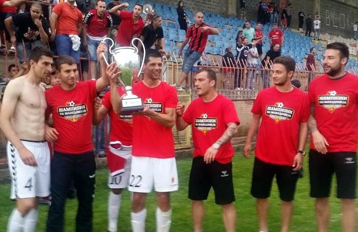 Vardar wins the national football league