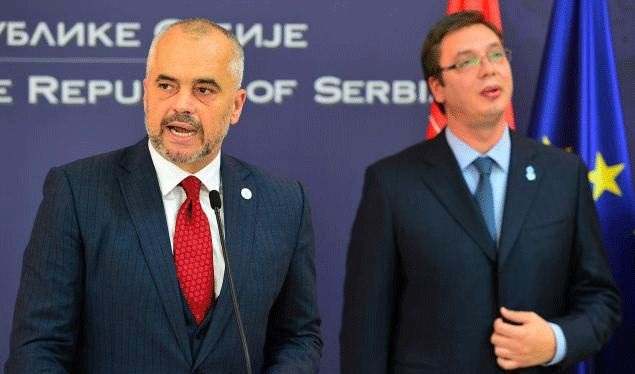 Visit of the Serb PM to Albania is contested