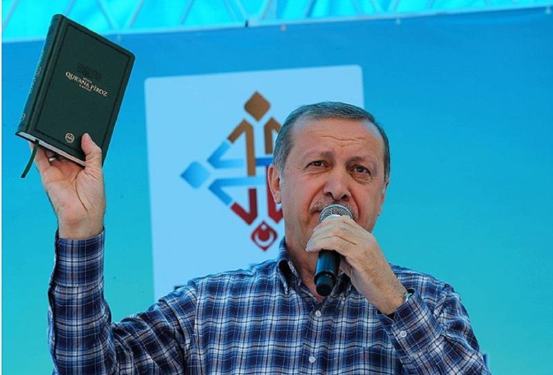 Erdogan raises the rates of the AKP
