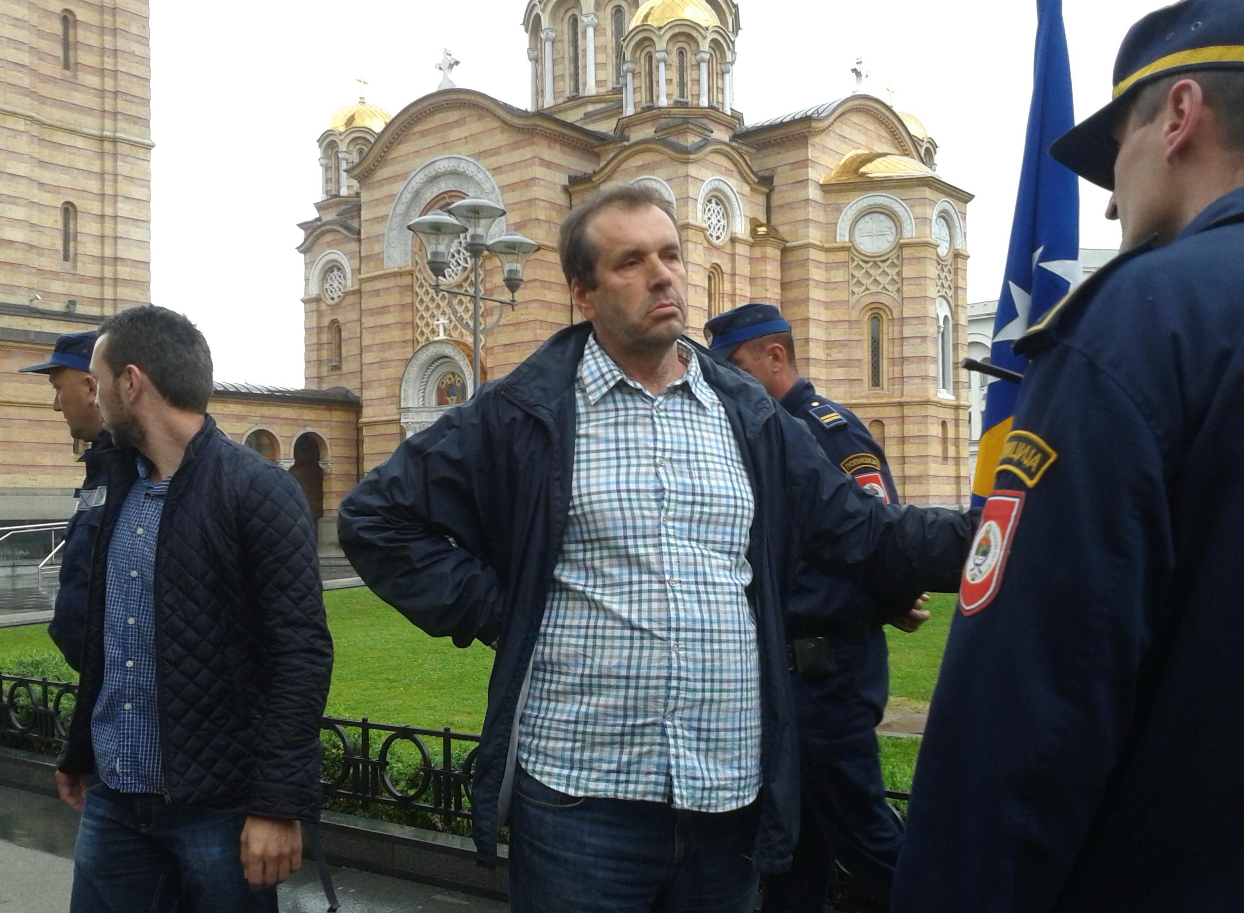 Sejfudin Tokic apprehended for provocations