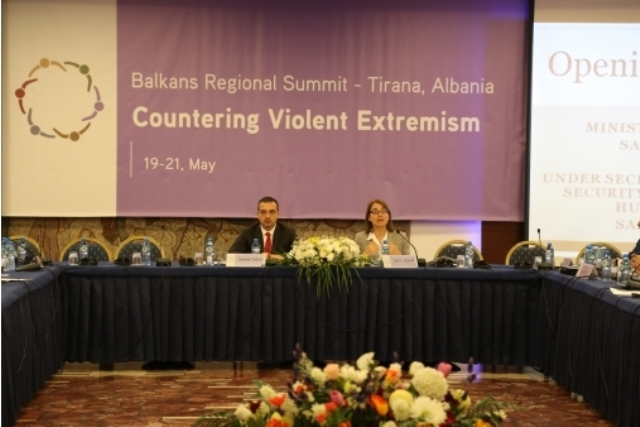 What sort of terrorism really threatens Albania today?