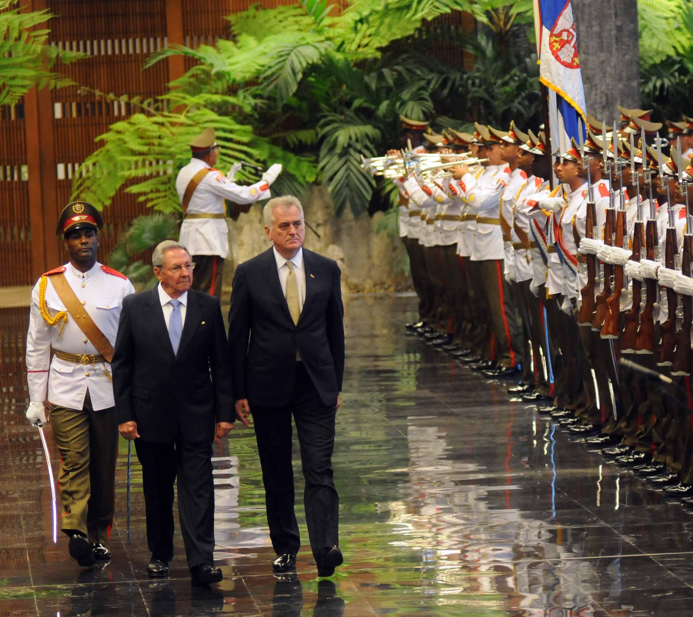 Castro and Nikolic exchanged praises