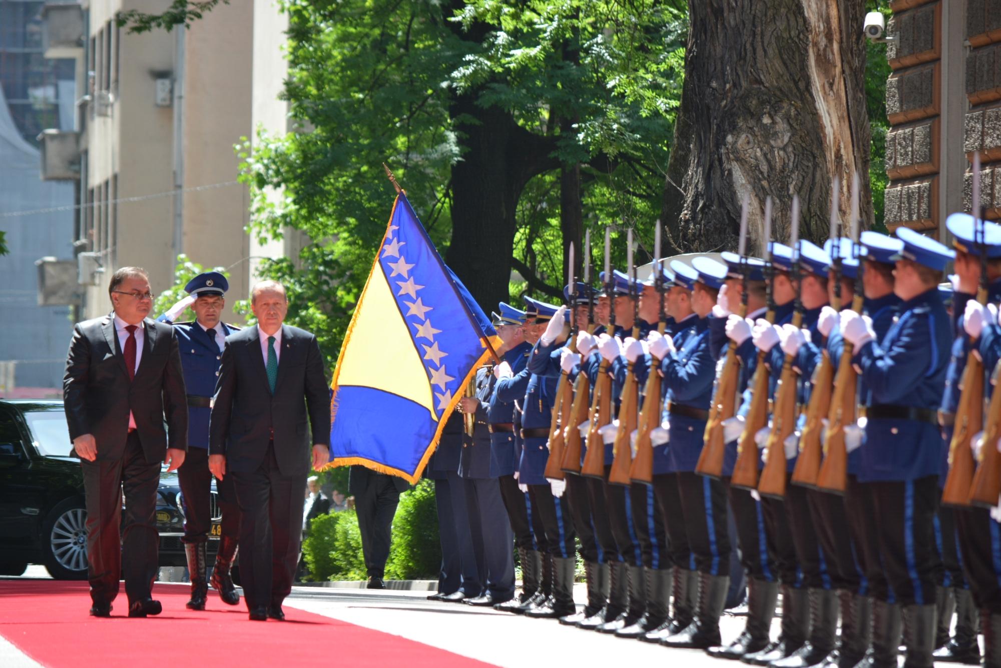 Erdogan in Sarajevo: Turkey supports BiH on its way to NATO