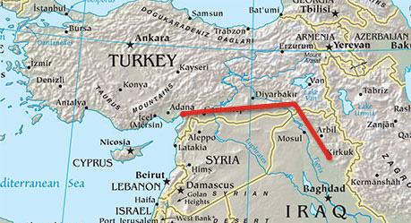 Turkey the main export gate of Iraqi oil