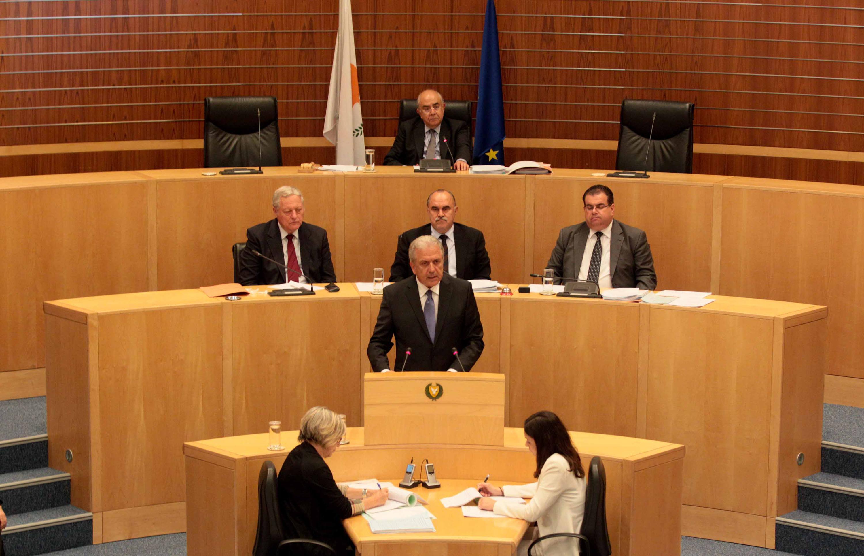 EU Commissioner Demetris Avramopoulos in Cyprus