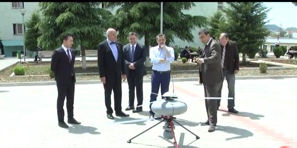 Digital precinct and drones for wanted people in Albania VIDEO