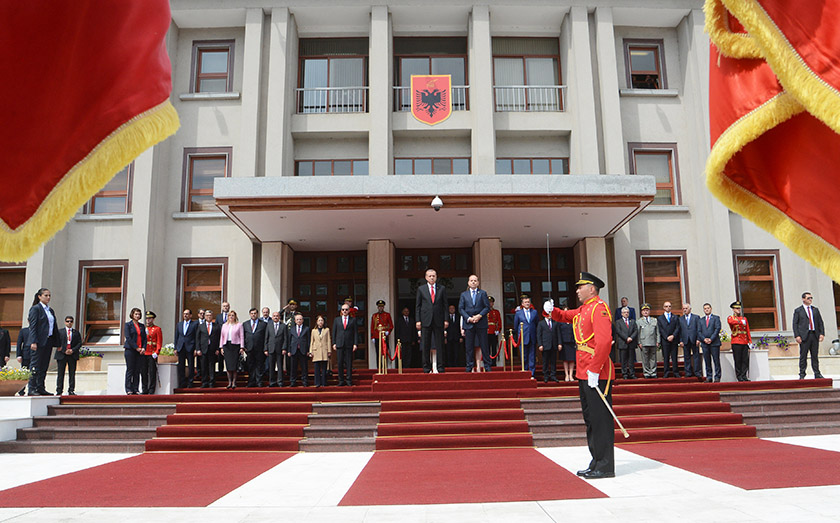 Latest developments in FYROM at the focus of talks between Albania and Turkey