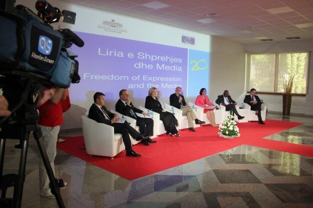 OSCE Representative urges progress on public service broadcasting reform and safeguarding media pluralism in Albania