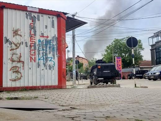 Armed clashes in Kumanovo between police and an armed group