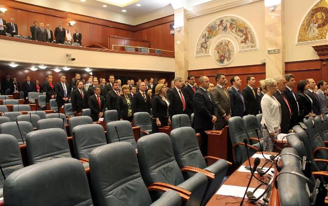 EU calls for dialogue, Skopje doesn't react