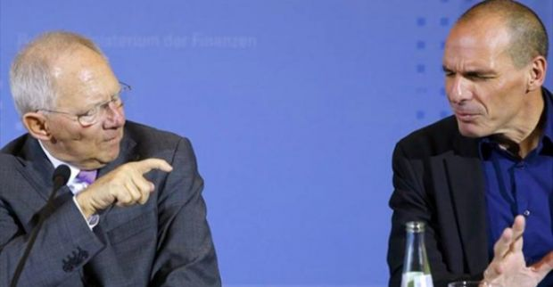 Meeting Schauble-Varoufakis before Monday's Eurogroup
