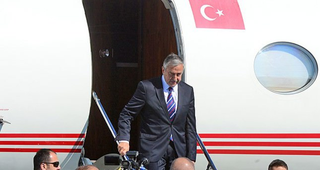 Akinci on an official visit to Ankara